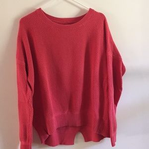 Loft Women's Coral Medium Sweater